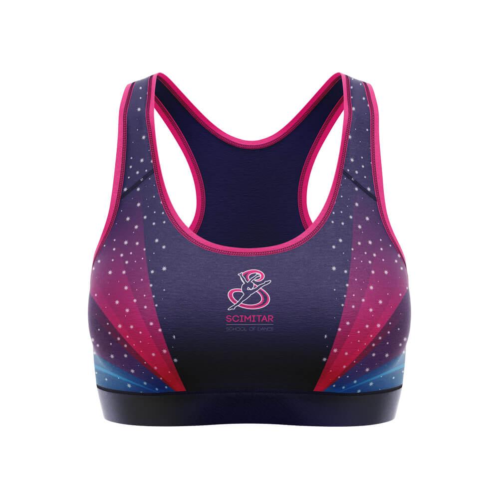 Custom Dancewear Sports Bras Dancing