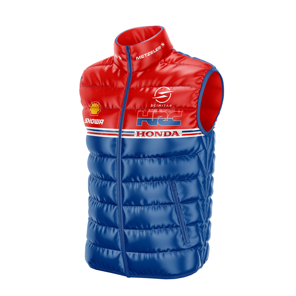 Custom Motorsport Padded Gilets