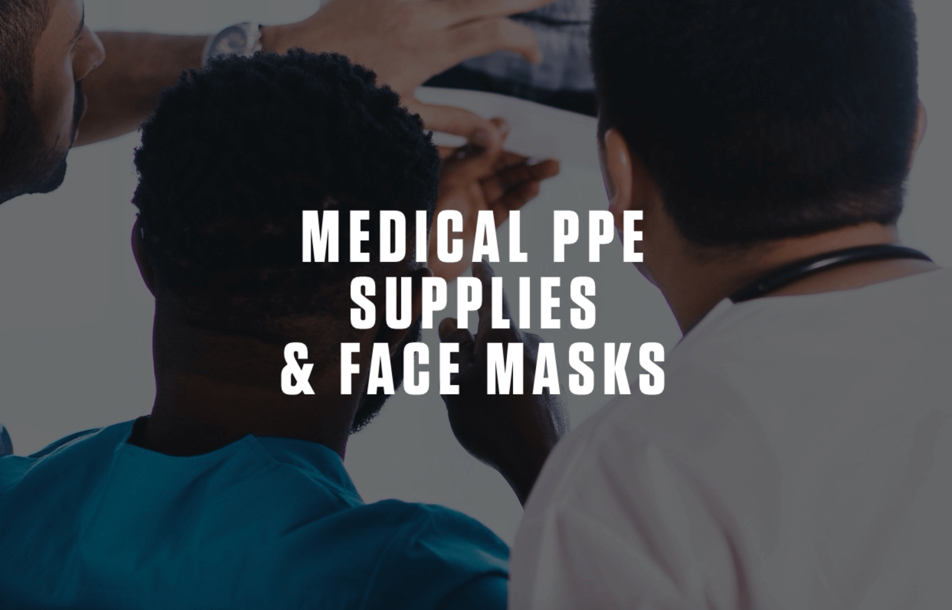 Medical PPE Supplies & Face Masks